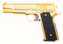 Galaxy G20 M945  Full Metal Spring Pistol in Gold