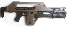 Tan Snow Wolf M41A Pulse AEG Rifle