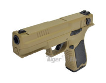 Cyma CM127 Electric Airsoft Pistol AEP in Tan
