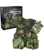 Kids Adventure Tactical Vest Set in Dpm