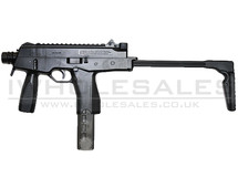 Army Armament R606 Black Automatic Sub Machine Gun with Folding stock