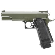Galaxy G6 M1911 Full Metal Pistol BB Gun in Green