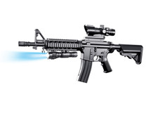 vigor 8907a m4 style Spring Rifle in balck
