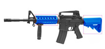 cyma cm507 m4 style blue electric rifle  with carry handle