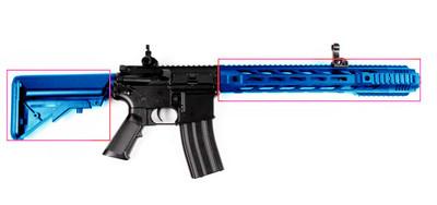 Cyma CM518 M4 Electric Rifle in Blue