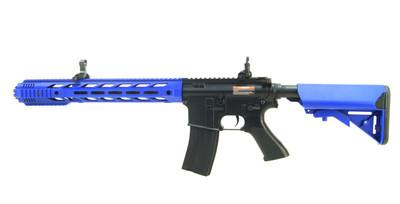 Cyma CM518 M4 SIA Custom Muzzle Break in Blue
