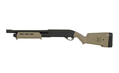 CYMA CM355 Tactical Pump Action Shotguns in Tan