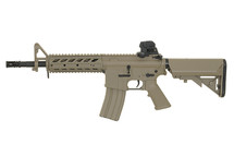Cyma CM517 BB Gun with RAS Handguard in Tan