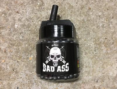 White Bad Ass Sniper BB 1000 X 0.40G pellets (6mm)