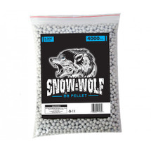 snow wolf bb pellets 4000 x 0.20g (6mm) in bag