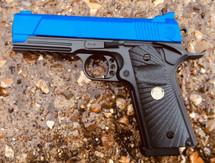 Golden Hawk 2030 M1911 Custom Spring Pistol in blue