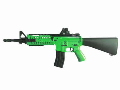 Well D3814 Electric Rifle in Green