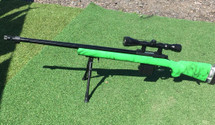 Well MB4405 Airsoft Sniper Rifle in Green with Scope & Bipod