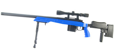 Well MB4413 Elite Airsoft Sniper Rifle in Blue
