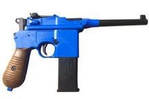 Well G196 Broom Handle C96 Co2 pistol in blue