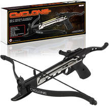 Anglo Arms Cyclone Self Cocking 80lb Crossbow Pistol in Black