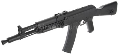 Ak 105 cyma cm031b ak105 carbine aeg in black - bbguns4less