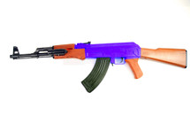 Cyma P47 AK47 Spring BB Gun Rifle in Blue (Fixed Stock)