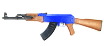 Cyma P47 AK47 Spring BB Gun Rifle in Blue