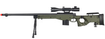 WELL MB4403D Spring Sniper Rifle with scope & bipod in Army Green