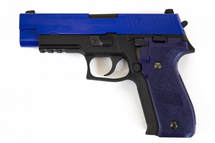 WE F226 Tactical S Series 226 replica Gas Blowback Pistol in Blue