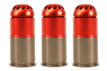 Nuprol 40mm Gas Grenade holds 96 Round in Orange (3 Shell)