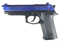y&p m92 co2 nbb blue pistol