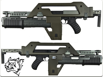Olive Drab Snow Wolf M41A Pulse AEG Rifle