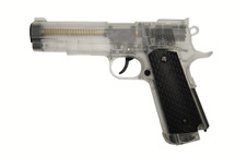 BROKEN//FAULTY-Blackviper Kimber G29 NBB Pistol in Clear
