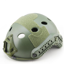 Wo Sport Future Assault Umbrella Helmet PJ-type Round Hole in olive drab