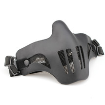 Wo Sport V1-Double Band Scouts Mask in Black