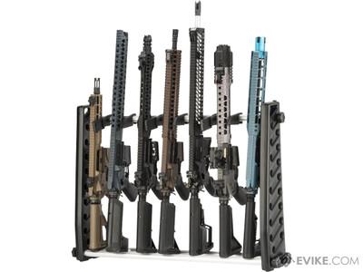 "Matrix Large 30"" Inch Airsoft Gun Rack System black"