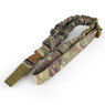 WoSport One Point Nylon Military Airsoft Gun Sling in MultiCam camo