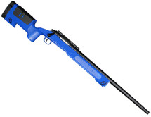 Double Eagle M62 Lightweight Airsoft Sniper Rifle in blue
