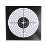 14 cm paper target in black for airguns