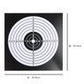 14 cm paper target in size