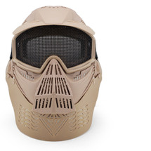 Wosport Transformers Ultimate Airsoft Mask with Steel Mesh in Tan