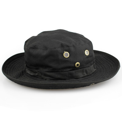 WoSports Military Boonie Hat V1 in Black