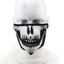 Wosport Half Face Seal/Skull Airsoft Mask