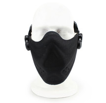 Wosport Half Face Brave Airsoft Mask in Black