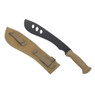 WoSport Military Training machete with a plastic blade in tan