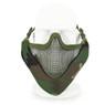 Wosport Half Face V-Master Airsoft Mask in WoodLand