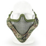 Wosport Half Face V-Master Airsoft Mask in SU