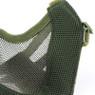 Wosport Half Face V-Master Airsoft Mask strap