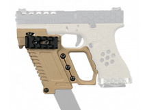 Wosport Glock Pistol Carbine Kit for G17/18/19 Series in Tan