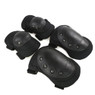 Wosport Tactical Elbow & Knee Pad Set in Black (PA-04)