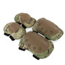 Wosport Tactical Elbow & Knee Pad Set in Multi Cam (PA-04)