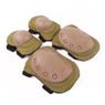 Wosport Tactical Elbow & Knee Pad Set in Tan (PA-04)