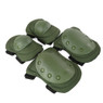 Wosport Tactical Elbow & Knee Pad Set in Olive Drab (PA-04)