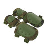 Wosport Tactical Elbow & Knee Pad Set in Woodland DPM (PA-04)